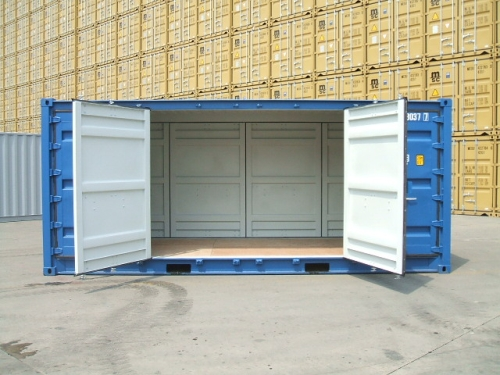 Double-Side-Door-Container & Rainbow Containers: GENERAL INFO