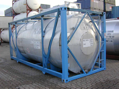 Tankcontainer used